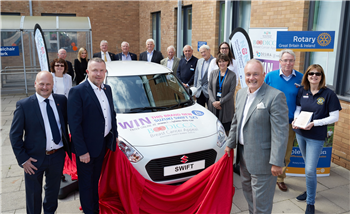 Car unveiled as charity raffle prize