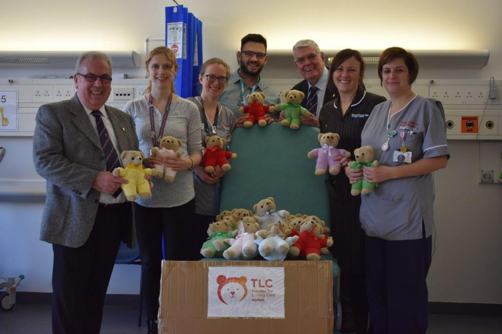 Special teddy delivery to Emergency Department