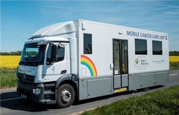 Mobile unit delivers cancer care closer to home