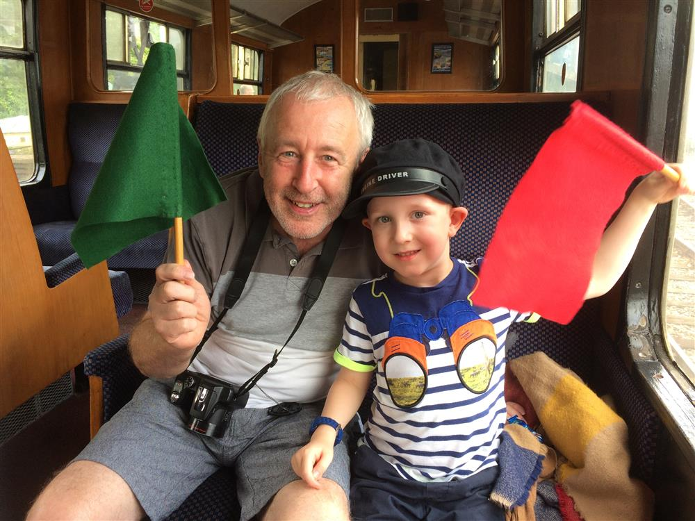Jacob's charity challenge to make memories with grandad