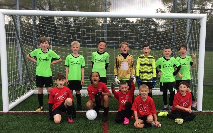 Young footballers on track to Anfield in virtual charity challenge